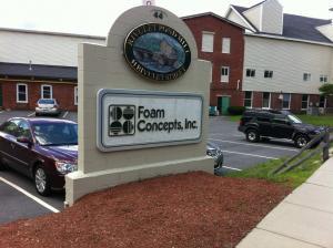 Le Management de Centriq visite l'usine EPS de Foam Concepts, Inc. à Uxbridge (Boston, USA)